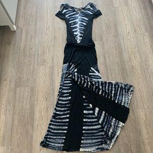 Young Fabulous & Broke Tie-dye Maxi Dress